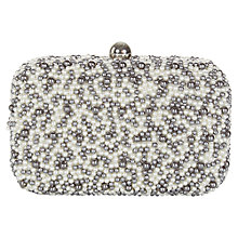 Buy Kaliko Pearl Clutch Bag, Ivory Online at johnlewis.com