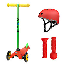 Buy Micro Scooters Mini Lollipop Red Set Online at johnlewis.com