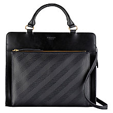 Buy Radley Clerkenwell Leather Multiway Bag, Black Online at johnlewis.com