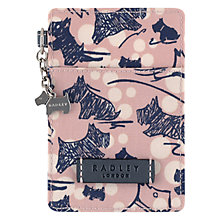 Buy Radley Cherry Blossom Travel Card Holder, Pink Online at johnlewis.com