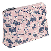 Buy Radley Cherry Blossom Dog Medium Pouch, Pink Online at johnlewis.com
