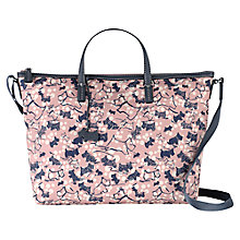 Buy Radley Cherry Blossom Medium Multiway Grab Bag, Pink Online at johnlewis.com