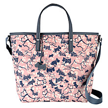 Buy Radley Cherry Blossom Multiway Grab Bag, Pink Online at johnlewis.com