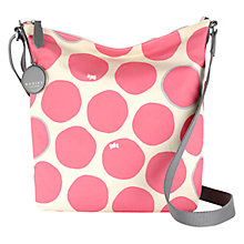 Buy Radley Spot On Medium Across Body Bag, Pink Online at johnlewis.com