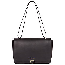 Buy Modalu Marlborough Shoulder Bag, Black Online at johnlewis.com