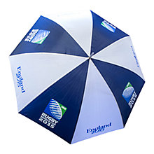Buy Awnhill Rugby World Cup 2015 Golf Umbrella, Blue/White Online at johnlewis.com