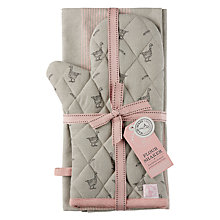 Buy Mary Berry Goose Print Oven Glove and Tea Towel Gift Set Online at johnlewis.com