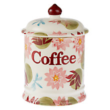 Buy Emma Bridgewater Water Lily Coffee Jar Online at johnlewis.com