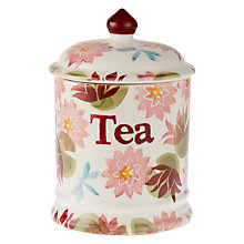 Buy Emma Bridgewater Water Lily Tea Jar Online at johnlewis.com