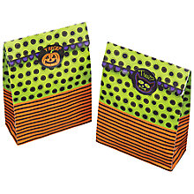 Buy Kitchen Craft Halloween Treat Bags and Labels, Pack of 8 Online at johnlewis.com