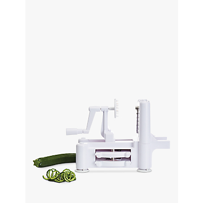 Kitchen Craft Vegetable Spiralizer, Spiral Slicer, 3 Stainless Steel Blades