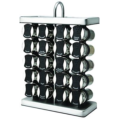Olde Thompson 20-Jar Spice Rack