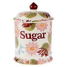 Buy Emma Bridgewater Water Lily Sugar Jar Online at johnlewis.com