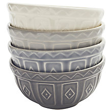 Buy Mason Cash Baker Street Bowls, Set of 4 Online at johnlewis.com