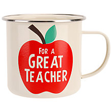 Buy Container Group Thank You Teacher Mug Online at johnlewis.com
