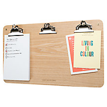 Buy Universal Expert by Sebastian Conran Multi Clip Noticeboard Online at johnlewis.com