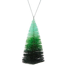 Buy John Lewis Ombre Tree Hanger, Green Online at johnlewis.com