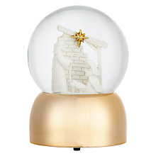 Buy John Lewis Nativity Snowglobe Online at johnlewis.com