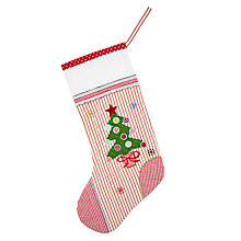 Buy Cambric & Cream Giant Tree Christmas Stocking Online at johnlewis.com