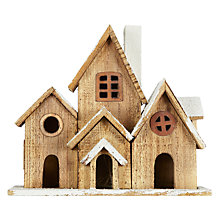 Buy John Lewis Natural Pre-Lit Street Christmas Decoration Online at johnlewis.com
