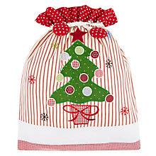 Buy Cambric & Cream Christmas Tree Sack Online at johnlewis.com