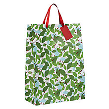 Buy John Lewis Different Perspective Abstract Leaves Gift Bag, Large Online at johnlewis.com