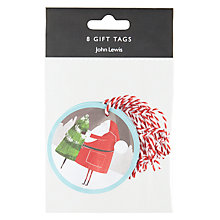 Buy John Lewis Christmas Baubles Tags, Pack of 8 Online at johnlewis.com