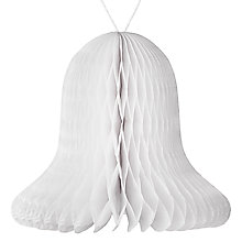 Buy John Lewis A Different Perspective Bell Concertina Decoration, Pack of 3 Online at johnlewis.com