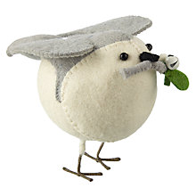 Buy Fiona Walker Standing Cream Robin, Large Online at johnlewis.com