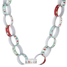 Buy John Lewis Merry Christmas Paper Chains, Pack of 200 Online at johnlewis.com