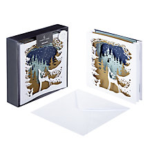 Buy John Lewis FSC-Certified Luxury Enchanted Forest Charity Christmas Cards, Box of 6 Online at johnlewis.com