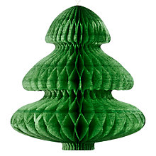 Buy Paper Joy Mini Honeycomb Trees, Pack of 3 Online at johnlewis.com