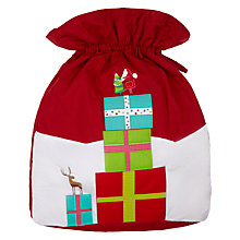 Buy John Lewis Santa & Presents Giant Christmas Sack Online at johnlewis.com