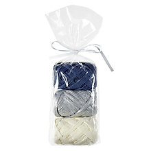 Buy John Lewis Enchantment Raffia Ribbon, Pack of 3 Online at johnlewis.com