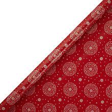 Buy John Lewis FSC Starburst Flitter Gift Wrap, 3m, Red Online at johnlewis.com