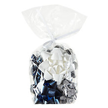 Buy John Lewis Snowdrift Gift Bows, Pack of 12, Multi Online at johnlewis.com