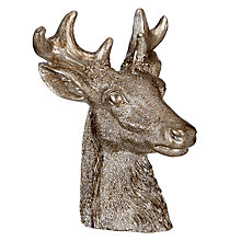 Buy John Lewis Enchantment Deerhead Candle, Pewter Online at johnlewis.com