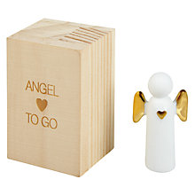 Buy Raeder Angel To Go Christmas Decoration Online at johnlewis.com