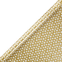 Buy John Lewis FSC Boutique Stars Gift Wrap, Gold Online at johnlewis.com