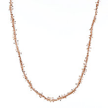 Buy John Lewis Star Tinsel, 7m, Copper Online at johnlewis.com