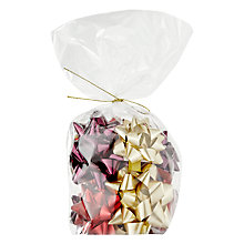 Buy John Lewis Midwinter Bows, Pack of 12, Red / Gold / Plum Online at johnlewis.com