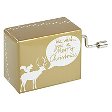 Buy Raeder Merry Christmas Music Box Online at johnlewis.com