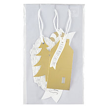 Buy Raeder Wintertime Forest Gift Tags, Pack of 3 Online at johnlewis.com