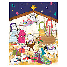Buy Caroline Gardiner Paper Advent Calendar Online at johnlewis.com