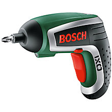 Buy Bosch IXO BBQ Screwdriver Online at johnlewis.com
