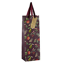 Buy John Lewis Midwinter Fruits Gift Bag, Champagne, Purple Online at johnlewis.com