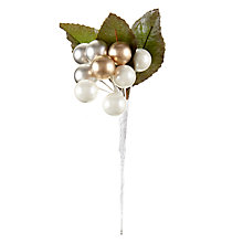 Buy John Lewis Mini Berry Pick, Gold Online at johnlewis.com