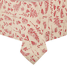 Buy John Lewis Midwinter Berries Tablecloth, L320 x W160cm Online at johnlewis.com