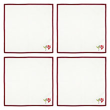 Buy John Lewis Fruits and Berries Napkin, Set of 4 Online at johnlewis.com
