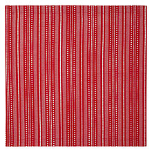Buy John Lewis Star Cotton Napkins, Set of 4, Red, L45 x W45cm Online at johnlewis.com
